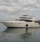 Ferretti 630 for rent